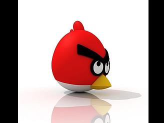 憤怒的小鳥模型