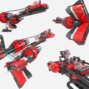 LEGO樂高現代積木玩具模型