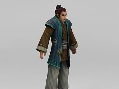 3d古代人物模型