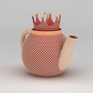 皇冠茶壺模型