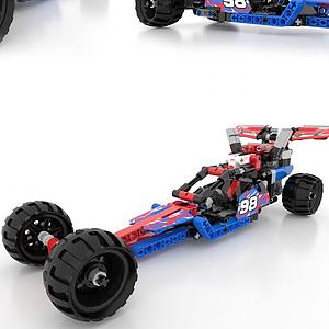 3dLEOGO-樂高<font class='myIsRed'>汽車</font>現代積木模型