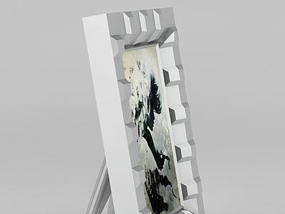 桌擺相框模型3d模型