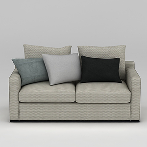 布藝沙發模型