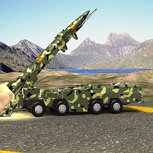 導彈發射動畫模型