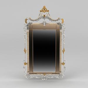 精品梳妝鏡模型