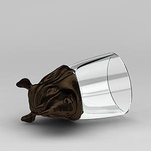 3d玻璃<font class='myIsRed'>犀牛</font>擺件模型