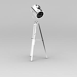 支架射燈模型