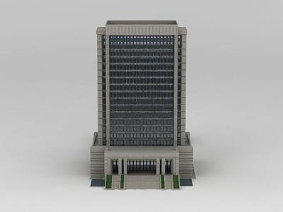 3d行政辦公大樓模型