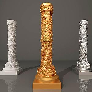 歐式柱模型