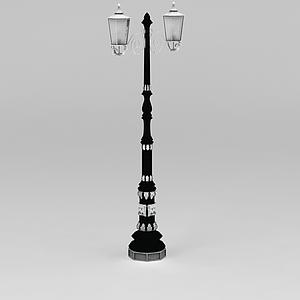 公園路燈模型