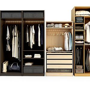 衣柜組合模型