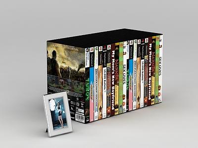 影碟模型3d模型