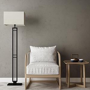 家具饰品组合模型