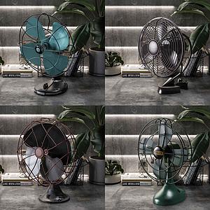 電風扇模型