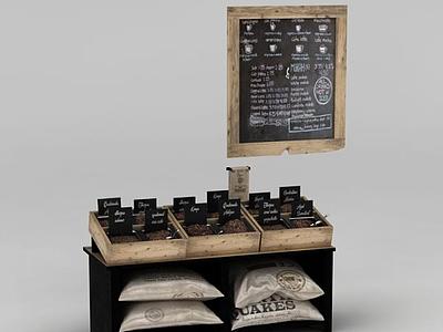 3d超市食品貨柜免費模型