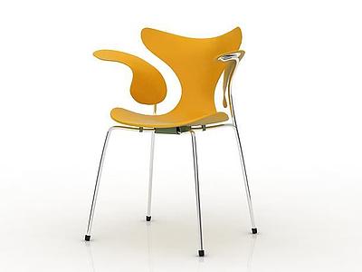 3d時尚創意單椅免費模型