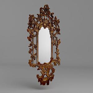 法式奢華鏡模型