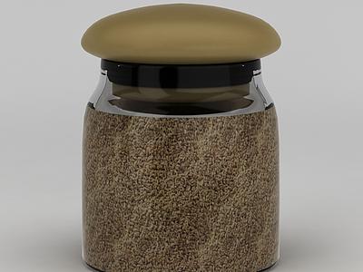 五谷密封瓶模型