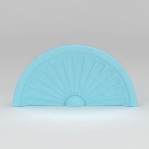 歐式拱形窗模型