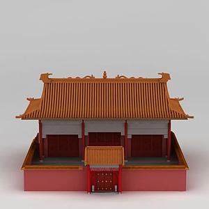 3d<font class='myIsRed'>古建筑</font>宫殿模型