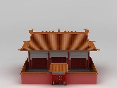 3d古建筑宮殿模型