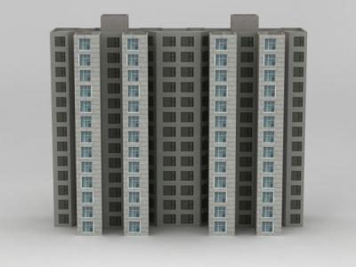 3d配樓模型