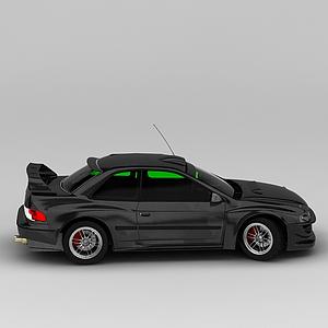 高檔黑色汽車模型