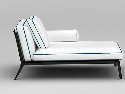 簡約沙發榻模型3d模型