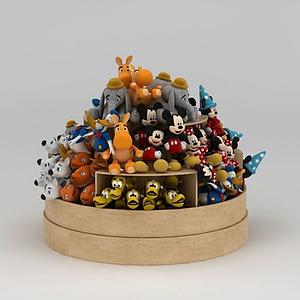 商場玩偶貨柜模型