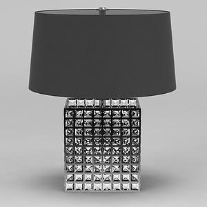 現代臺燈模型