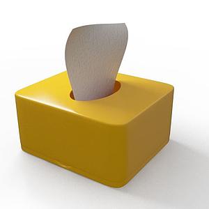抽紙盒模型