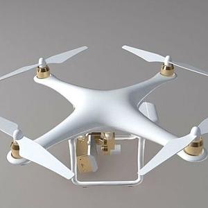 精靈  4 大疆無人機模型