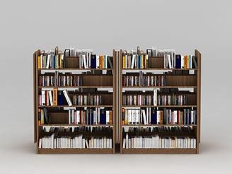 超市書柜模型