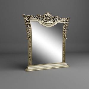 精美歐式鏡子模型