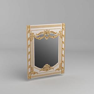 法式鏡子模型