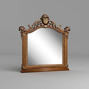 歐式鏡子模型