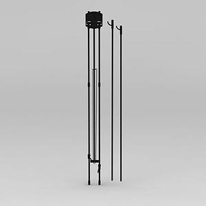 X展架模型