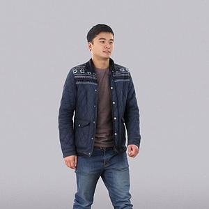 年輕男人模型