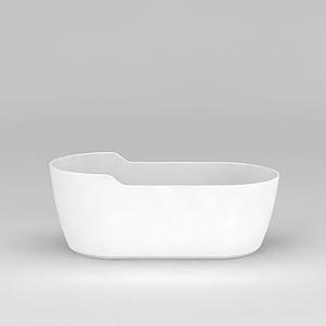 品質獨立浴缸模型