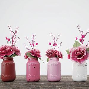 植物花卉装饰品模型
