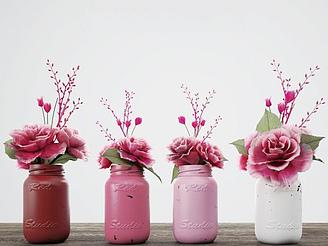 植物花卉裝飾品模型
