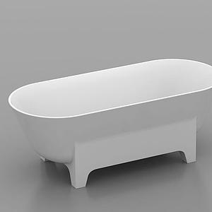 獨立浴缸模型