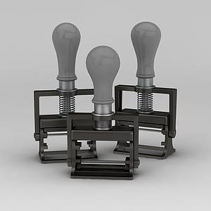 工業風燈具模型