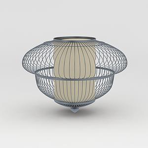 鐵藝燈籠燈飾模型