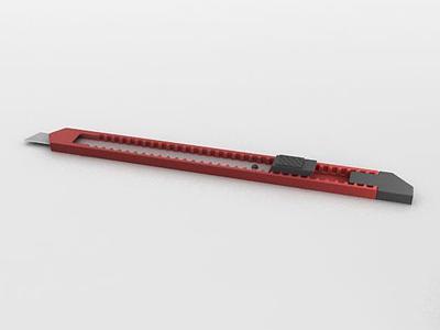 3d美工刀模型