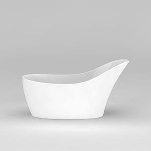 創意浴缸模型