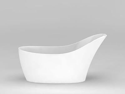3d創意浴缸模型