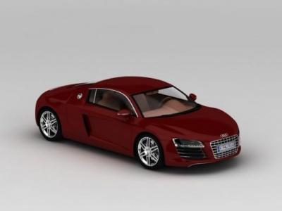 3d奧迪R8模型