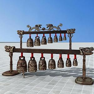 古代編鐘模型