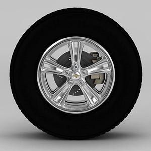 汽車輪胎鋼圈模型